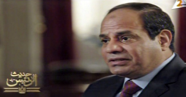 Egypt's el-Sissi says need growing for joint Arab force