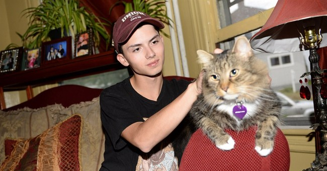 Teen who gained fame over laser cat portrait dies