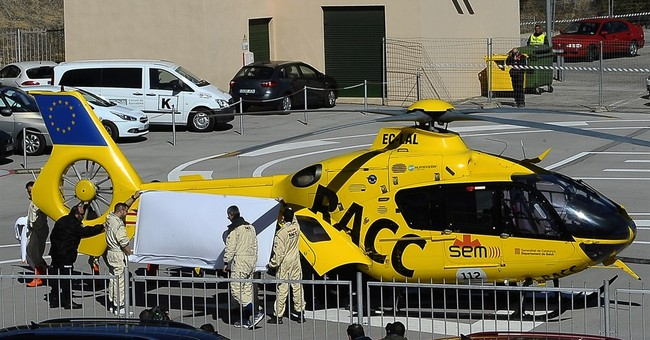 Fernando Alonso says he is 'perfectly fine' after crash