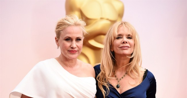 SHOW BITS: Patricia Arquette calls for women's wage equality