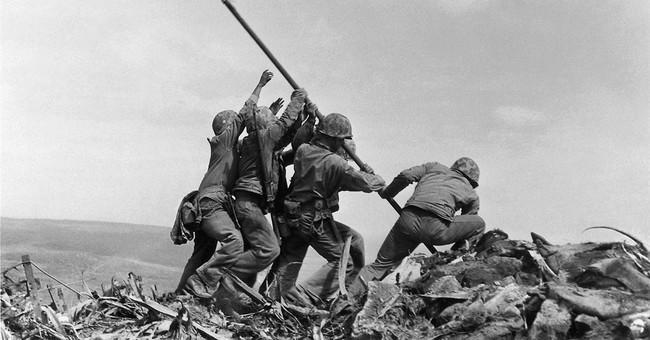 AP WAS THERE: 70 years ago, Marines raise  flag on Iwo Jima