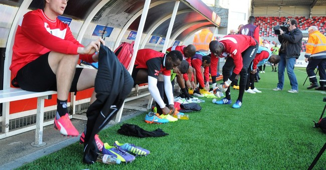Population 7,500, Guingamp takes on the world's best