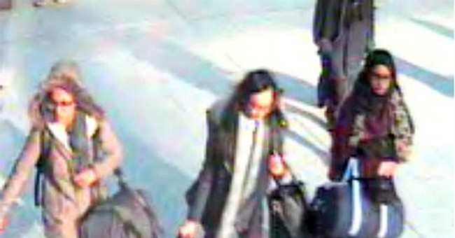 UK police believe 3 missing schoolgirls have entered Syria