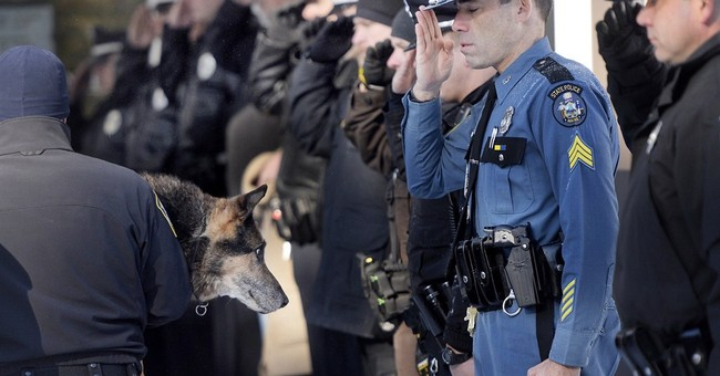 Beloved K9 gets police escort to be euthanized at clinic
