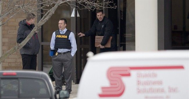 Police: 'Domestic situation' sparked workplace shooting