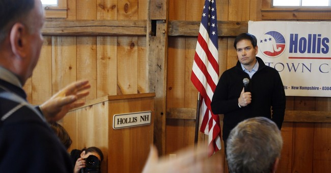 Voter challenges Rubio's immigration stance during town hall