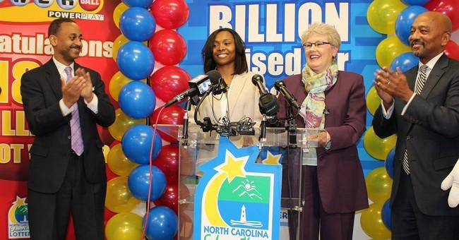 Powerball jackpot winner in North Carolina: Single mom of 4