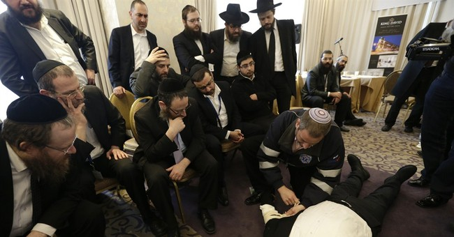 After attacks, European rabbis train self-defense in Prague