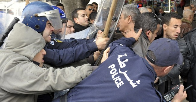Heavy security prevents opposition protests in Algiers