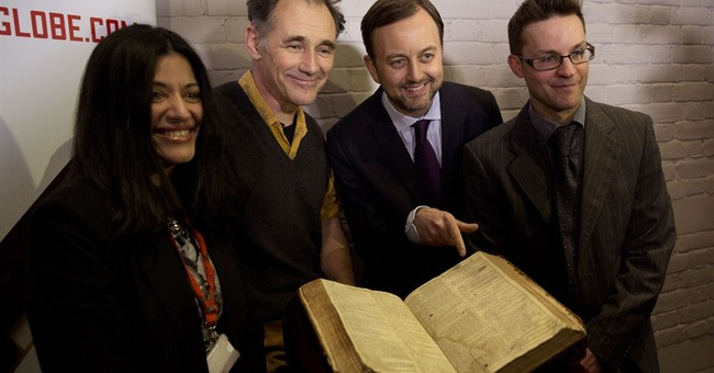 First Folio found in France to visit Shakespeare' Globe
