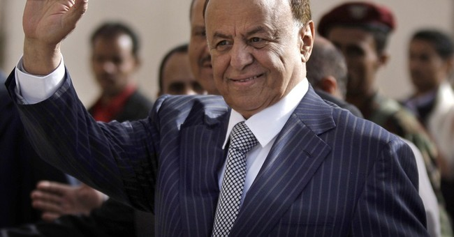 Head of Arab Gulf council visits Yemen's embattled president