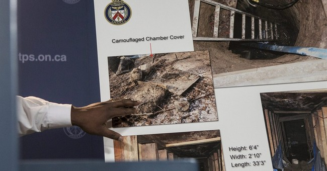 Toronto police stumped by mysterious tunnel