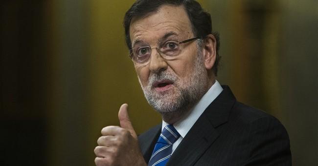 "Spain's PM denies Greek counterpart's ""overthrow"" claim"