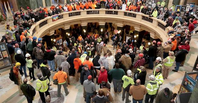 GOP ends right-to-work hearing early, enraging unions