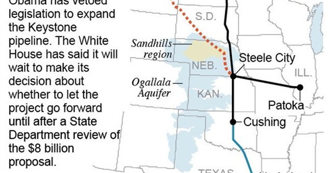 Defying GOP, Obama vetoes Keystone XL pipeline bill
