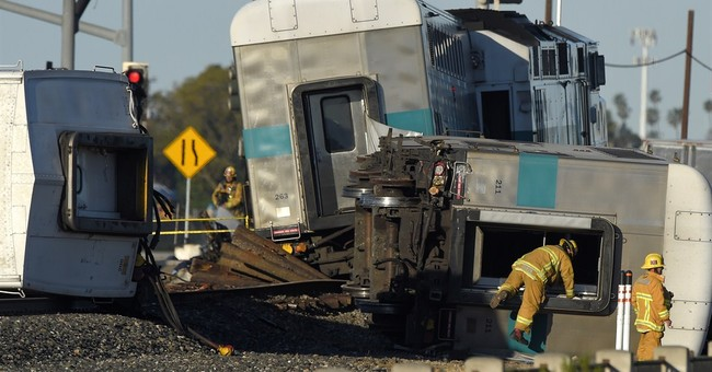 Lawyer: Trucker ran for life after stranding truck on tracks