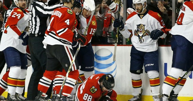 Chicago's painful night: Rose, Kane out with injuries