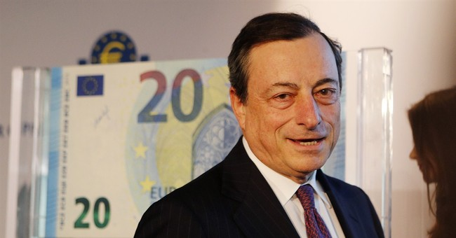 European Central Bank shows off new 20-euro note