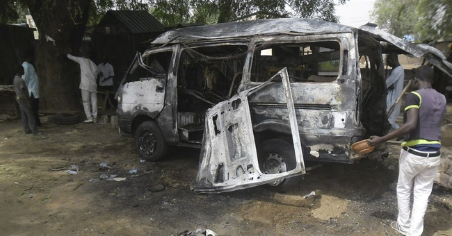 Suicide bombers kill 24 at 2 bus stations in north Nigeria