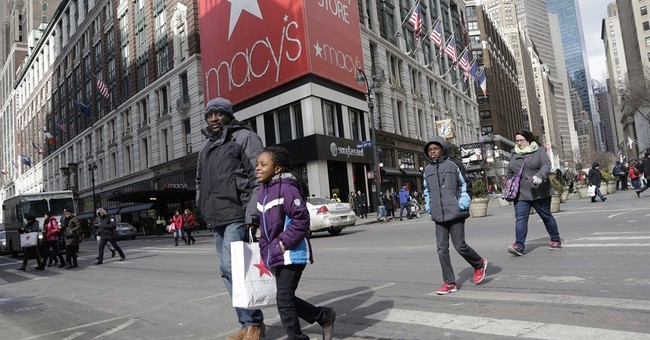 Macy's offers cautious annual profit outlook