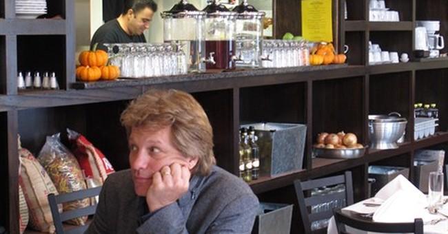 Bon Jovi sponsors eatery in Sandy-ravaged Jersey shore town
