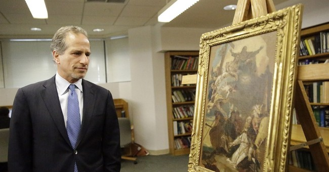 Stolen statue, painting returned to Italian government in NY