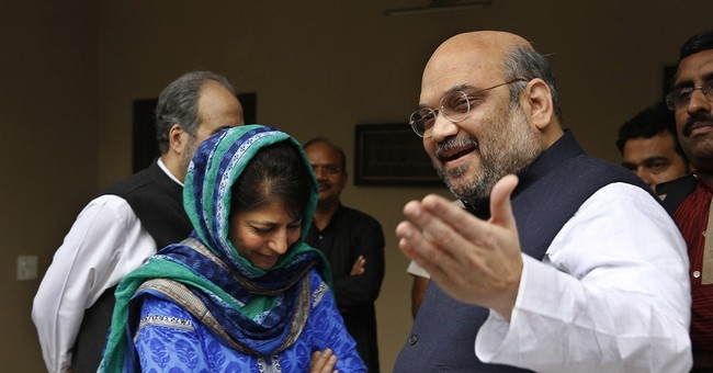 India's ruling party, Kashmir party to form state government