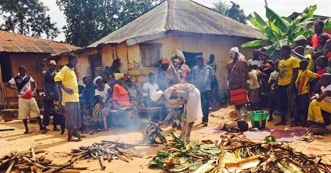 Traditional healer returns to first Ebola-affected village