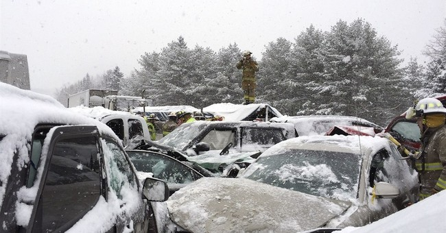 Long investigation likely in 70-car pileup on Maine highway