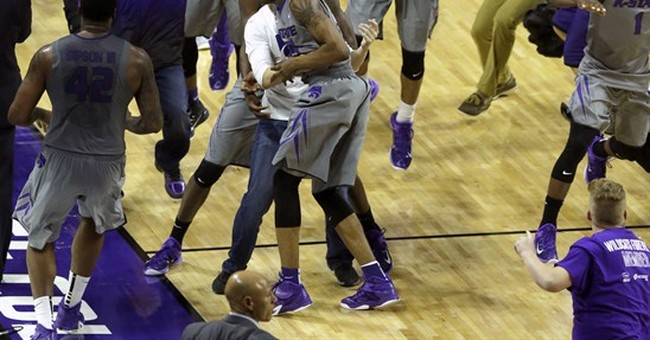 Big 12's chief reprimands K-State for court-storming case