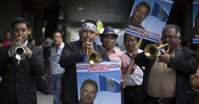Guatemalan ex-president released from prison in bribe case