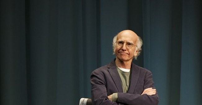His enthusiasm curbed, Larry David hits Broadway in new play