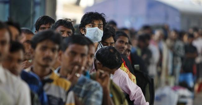 Indian city bans public gatherings over swine flu fears