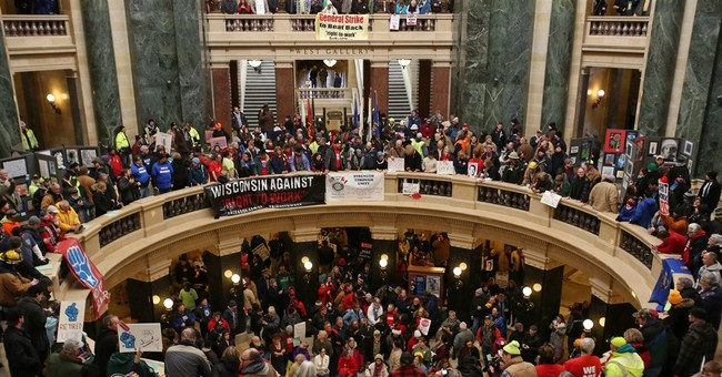 Speed, apathy mute protests vs. Wisconsin right-to-work bill