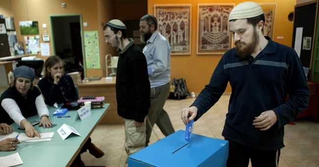 West Bank settlers vote although outside of sovereign Israel