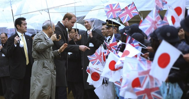 Prince William starts first Japan visit _ with green tea
