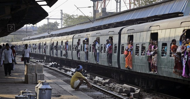 Image of Asia: Improving India's crowded railway system