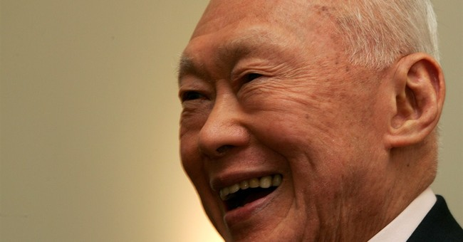 Singapore's founder sedated, on life support