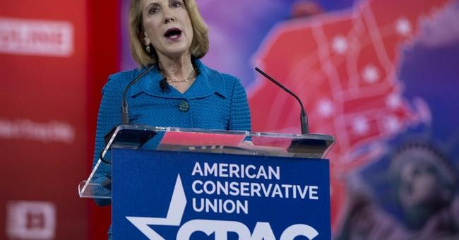Carly Fiorina ramps up Hillary Clinton attacks at C-PAC