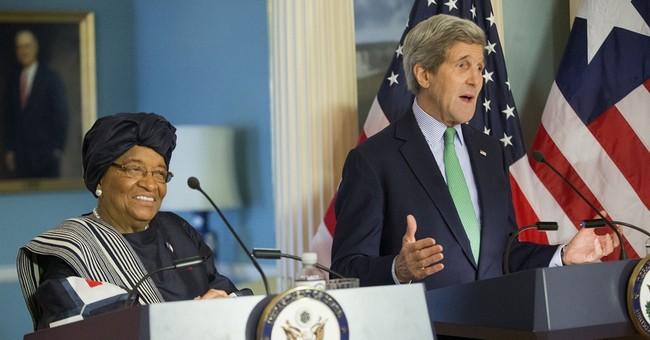 Obama, Liberian President Sirleaf discuss Ebola recovery