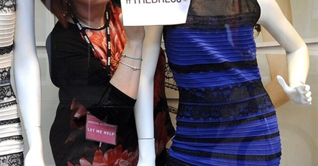 Debate rages over color of dress photographed in rare light