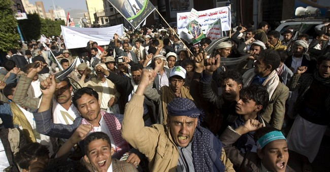 Rival protests in Yemen in wake of Shiite rebel power grab