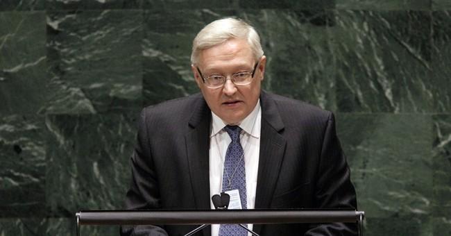 "Russian diplomat slams ""destructive"" US stance"