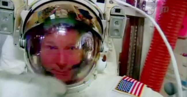 NASA approves Sunday spacewalk despite water leak in helmet