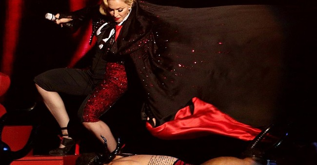 Madonna: Hit my head, got whiplash in Brits stage tumble