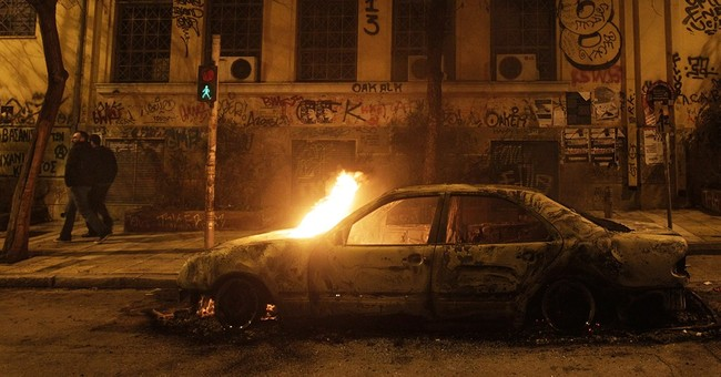Limited violence in Athens after anti-government protest