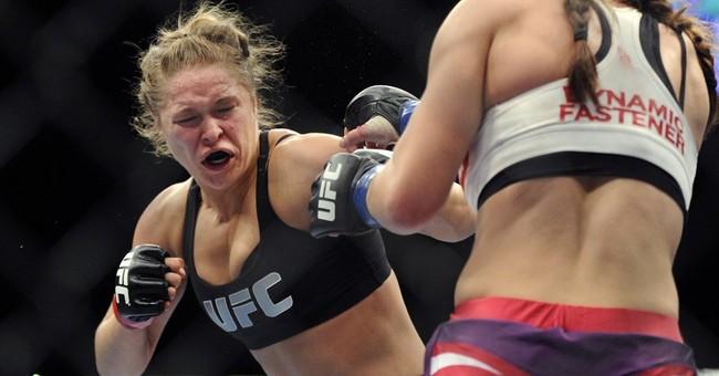 UFC champion Ronda Rousey leads big surge in women's MMA