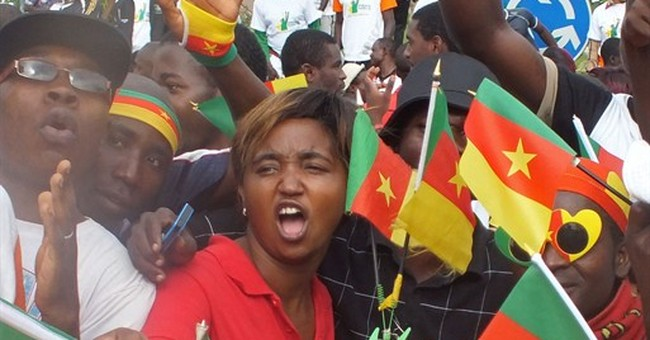 Cameroonians demonstrate against attacks by Boko Haram