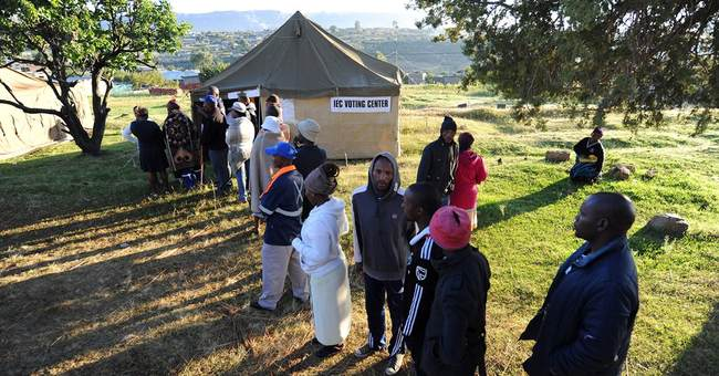 Lesotho votes in bid to overcome tension