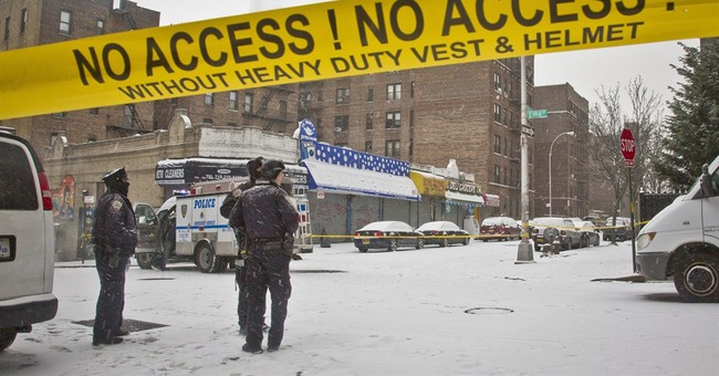 2 arrested after shooting that wounded 2 NYC police officers
